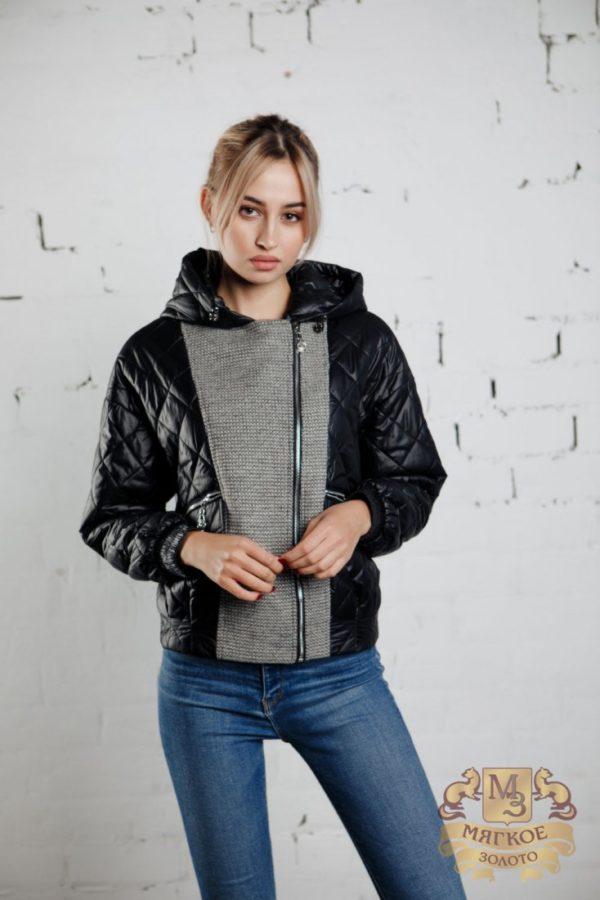 Куртка женская демисезонная А 29 922 черн