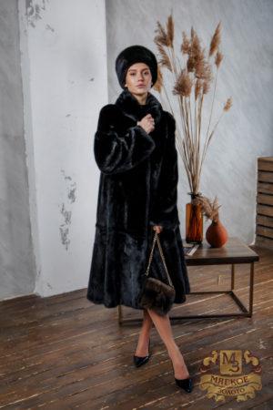 Шуба норковая Меховая мода 488-41