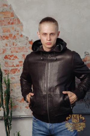 Кожаная куртка мужская Steel 2981