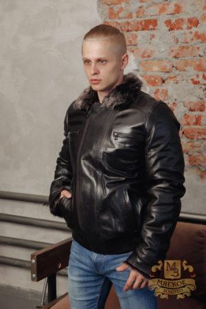 Кожаная куртка мужская Virado 4442T