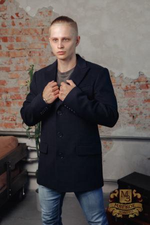 Пальто мужское шерстяное КАНКАН 2102