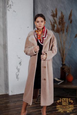 Пальто женское шерстяное с экомехом TORRISS K88320Y-52