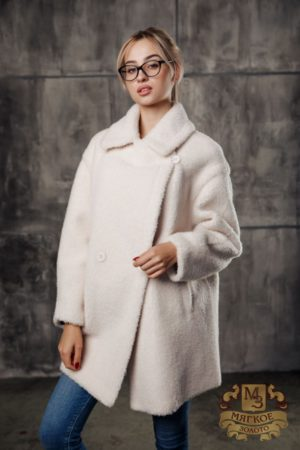 Пальто женское шерстяное с экомехом TORRISS K61132Y-1