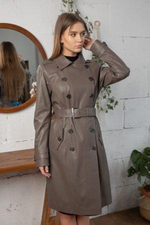 Кожаная куртка Susexx женская