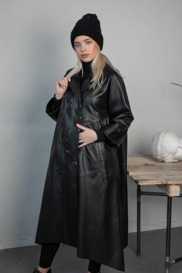 Кожаная куртка Trace женская