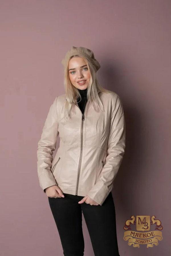 Кожаная куртка женская 1603