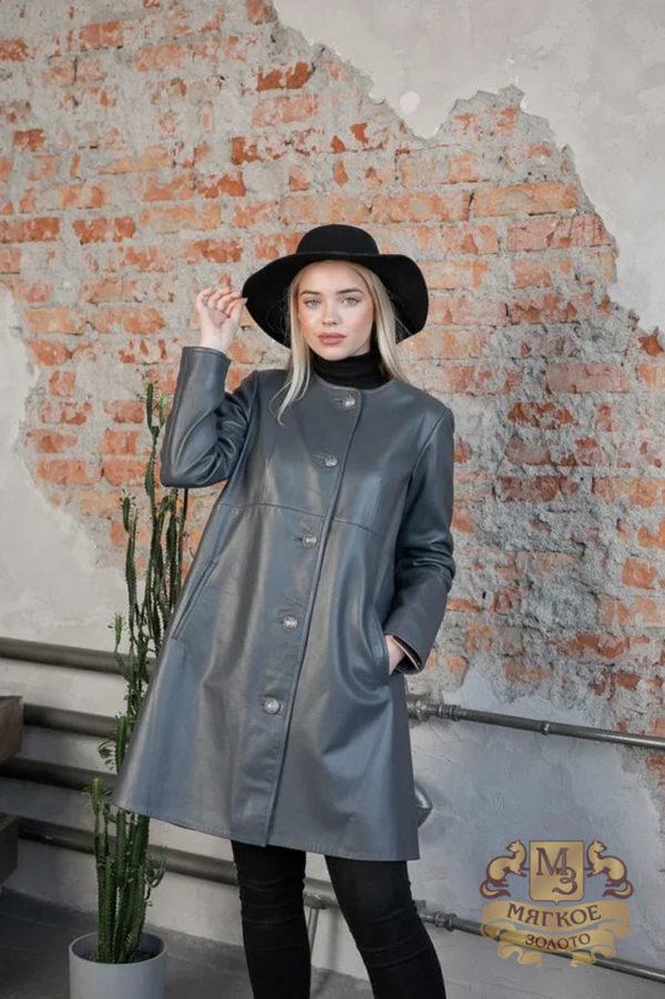 Кожаная куртка женская 1605