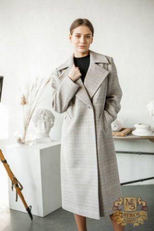 Пальто женское шерстяное Idekka д-1962