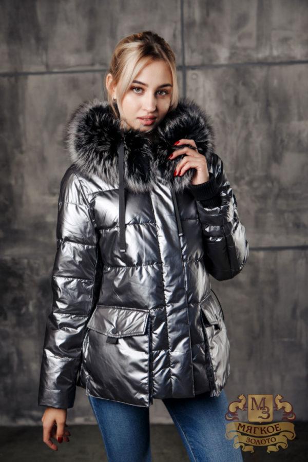 Пуховик женский Аляска 20945