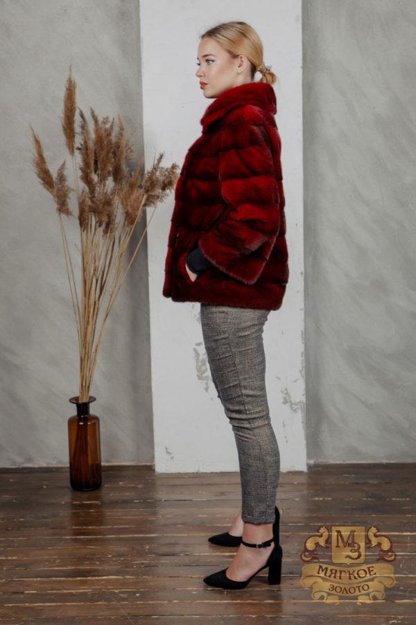 Шуба норковая Меховая мода 588