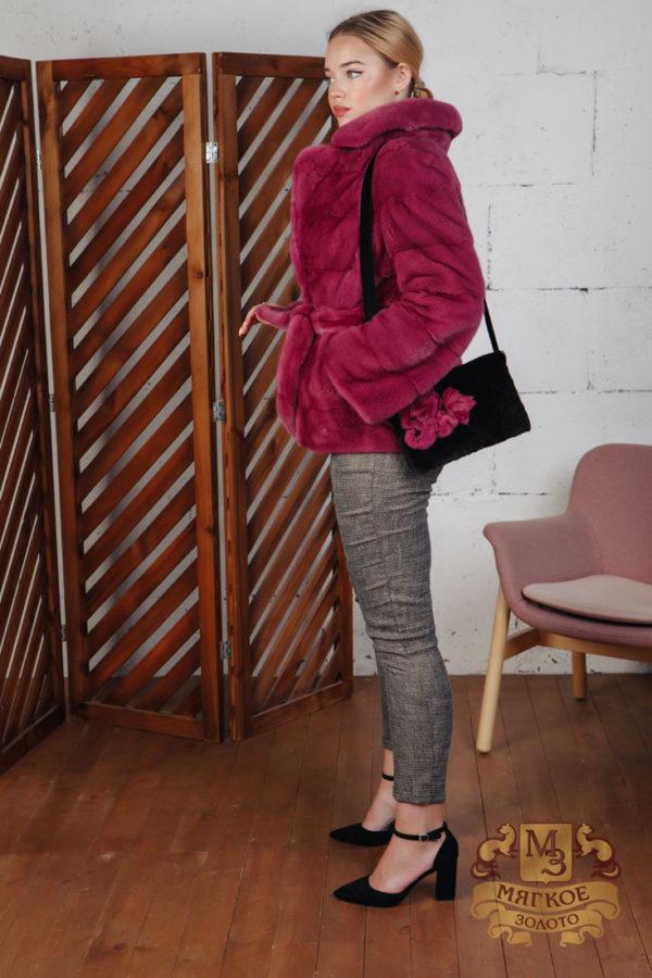 Шуба норковая Меховая мода 605-87