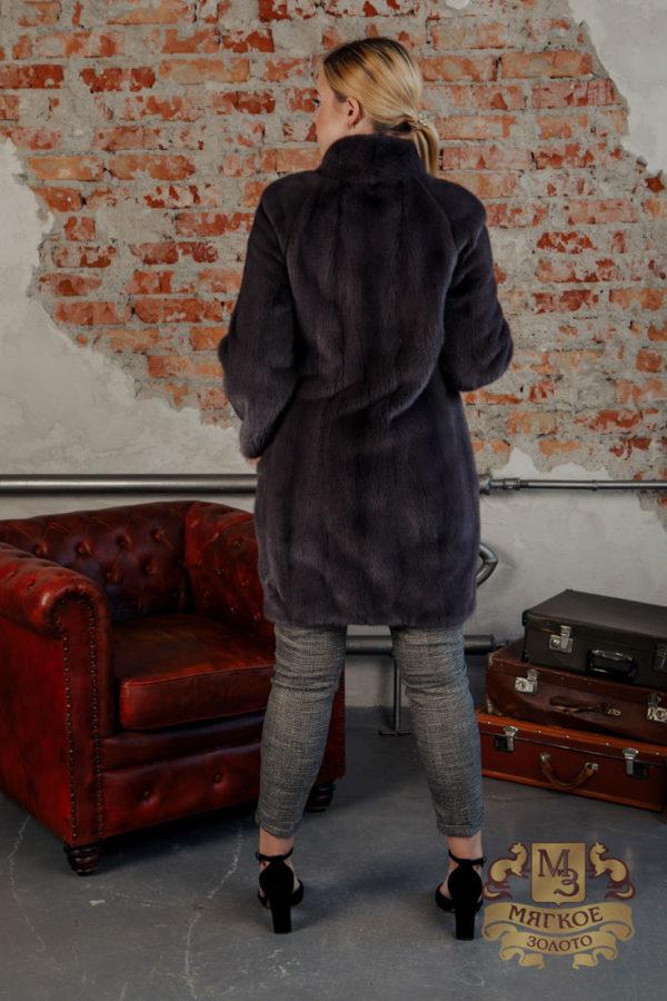 Шуба норковая женская воротник Россия