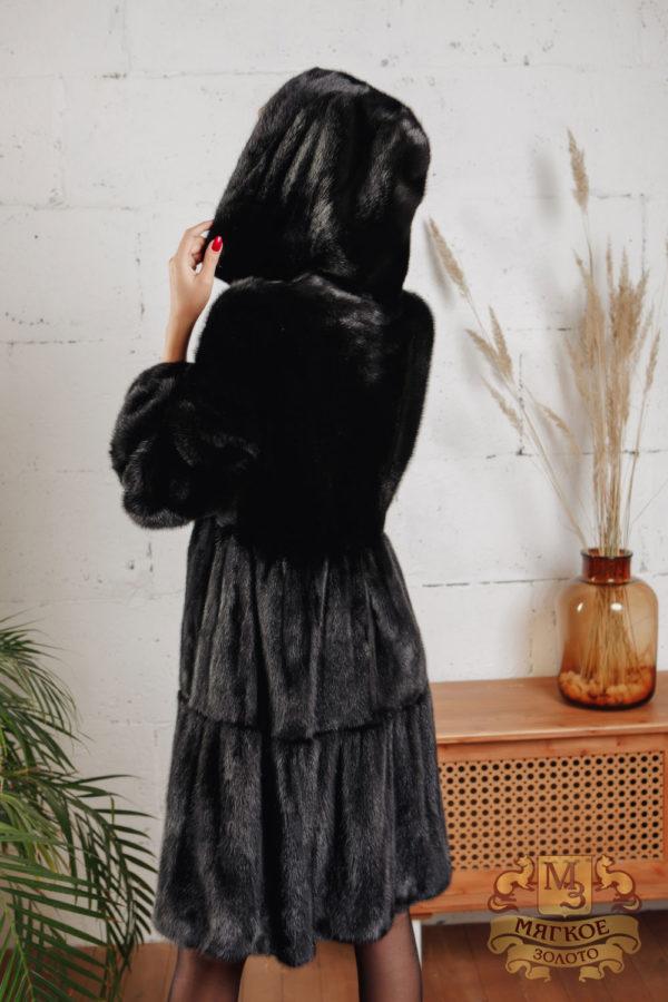 Шуба из норки Меха России Fashion