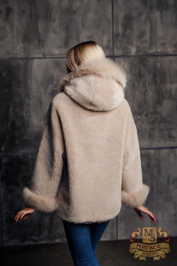 Пальто женское шерстяное с мехом TORRISS K88631YD