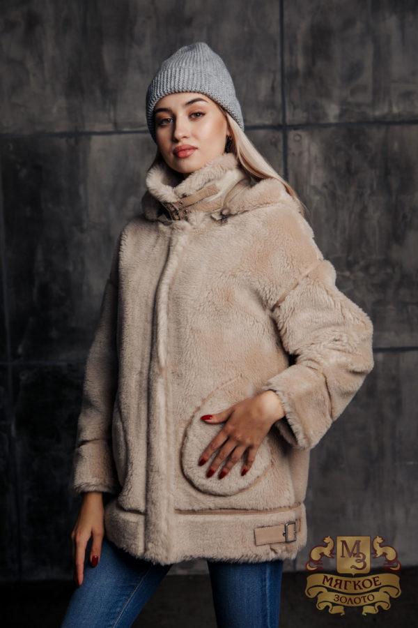 Пальто женское шерстяное с экомехом TORRISS K88536Y
