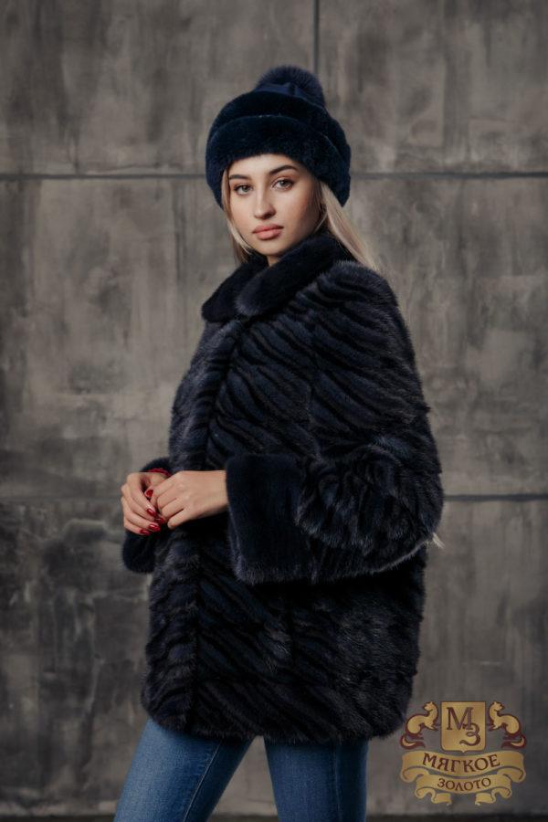 Шуба норковая Меха России 507-1