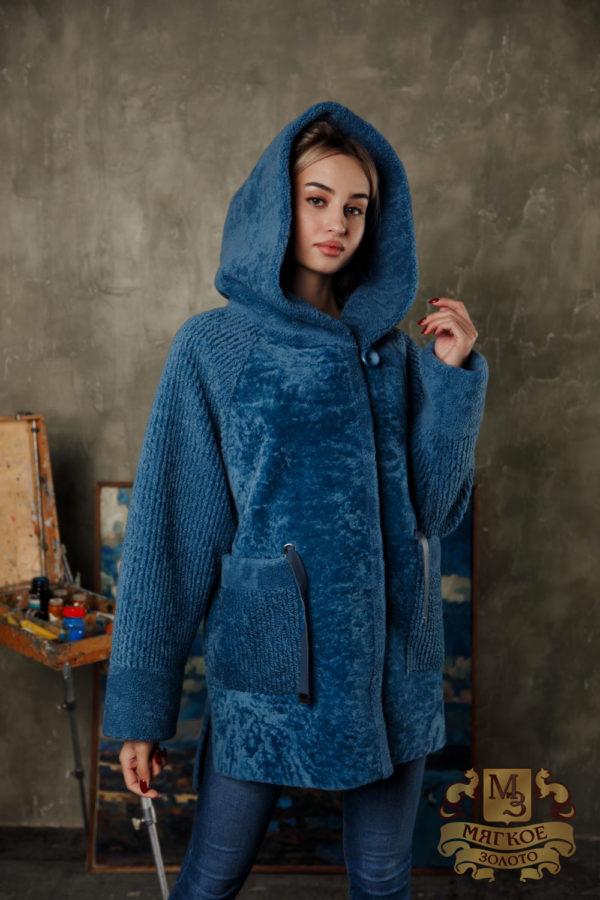 Шуба женская из овчины Favorit КБВ-2005