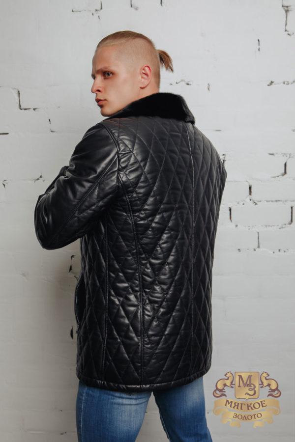 Кожаная куртка Dio Gomez 25225-IC подклад овчина