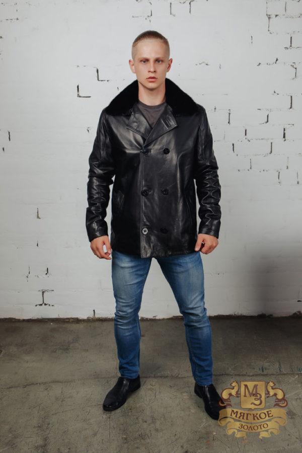 Кожаная куртка Steel 2933