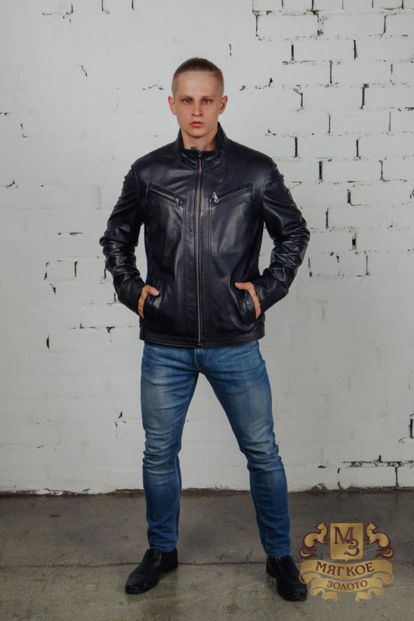 Кожаная куртка мужская 1408