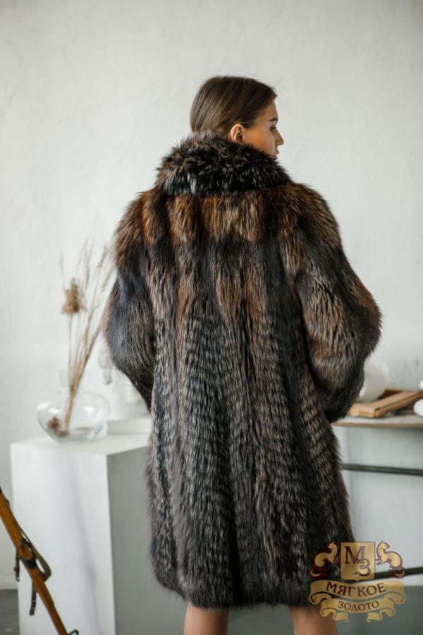 Шуба из меха лисы Меховая мода 06