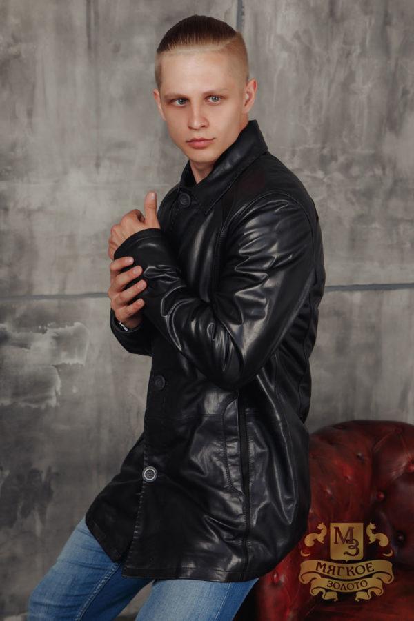 Кожаная куртка мужская Viva Dolce 98512