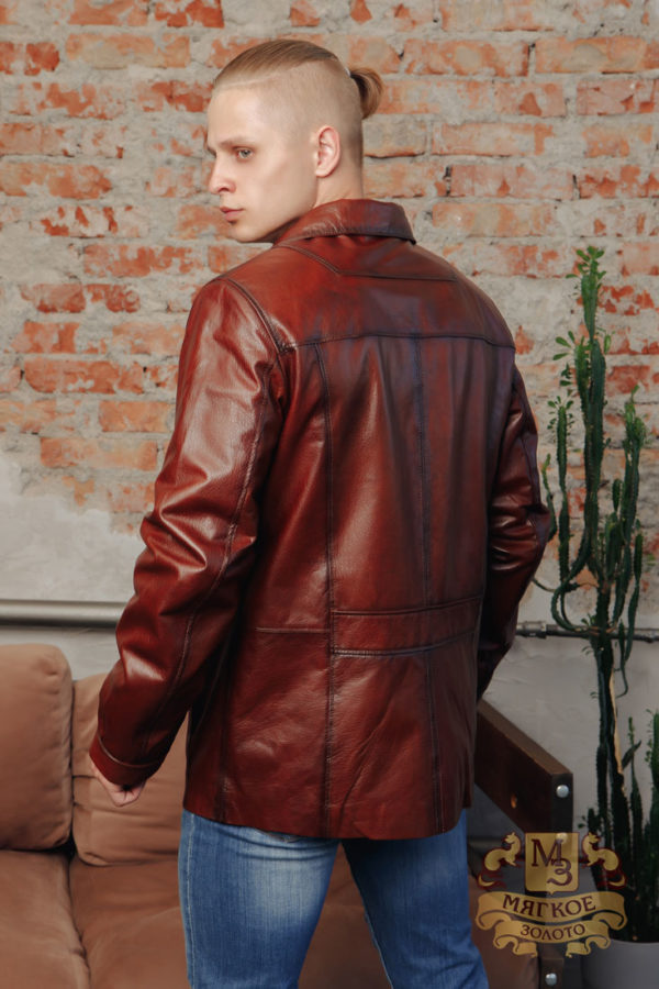 Кожаная куртка мужская Dio Gomez 32021-E