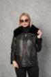 Кожаная куртка Black женская