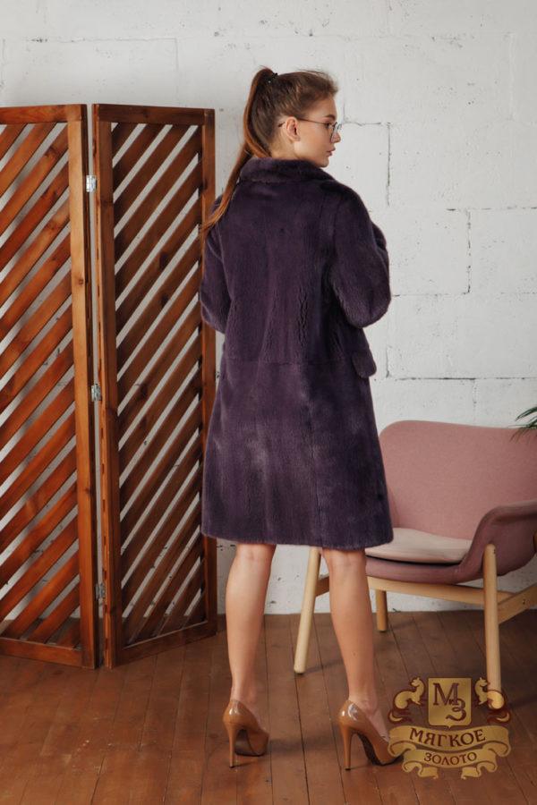 Шуба норковая меховая мода 657-81