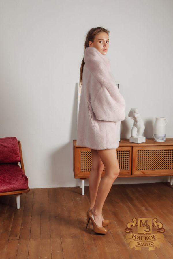 Шуба норковая меховая мода 618