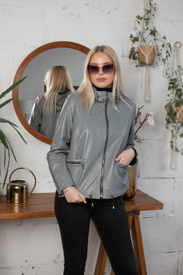 Кожаная куртка Dust женская