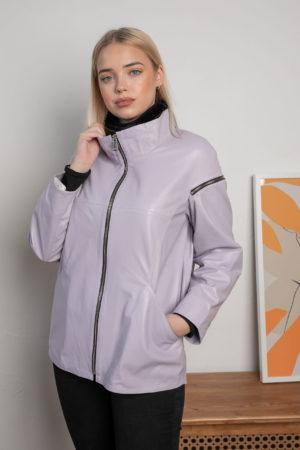 Кожаная куртка VIA женская