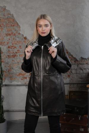 Кожаная куртка Dolche женская