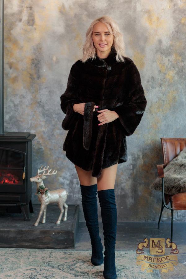 Шуба норковая Меховая Мода 554