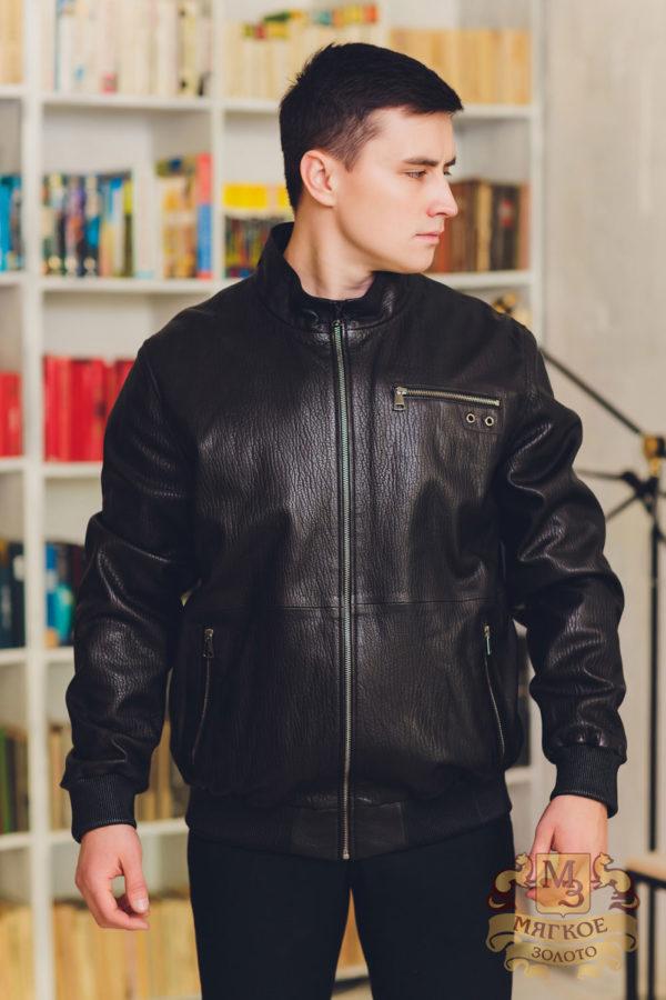 Куртка кожаная Viva Dolce Vita 1700 MAN ZIG