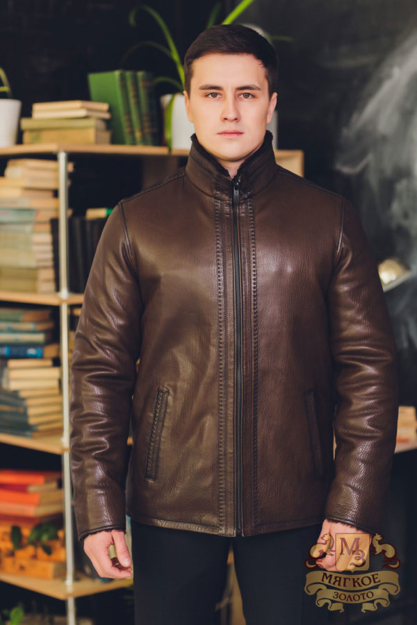 Куртка кожаная Pera Pelle B-1002-ICLICK
