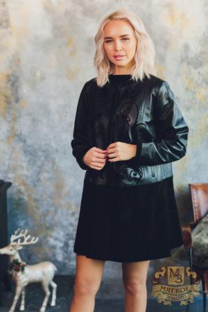 Куртка кожаная LINDI WEST 2313-80