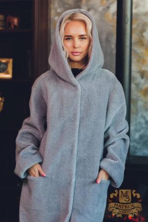 Пальто шерстяное двустороннее GVR Premium Furs M-2053