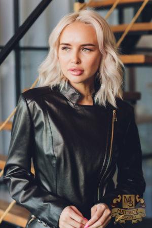 Куртка кожаная Carnelli BZ 017 003