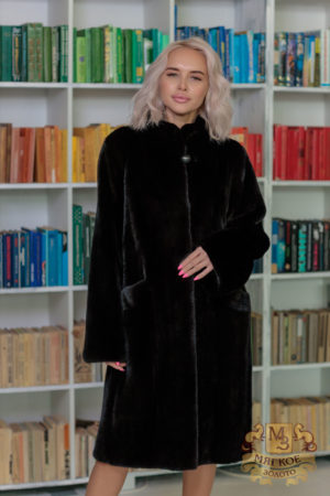 Шуба норковая blackglama MS MOUSIOS FURS PARKA