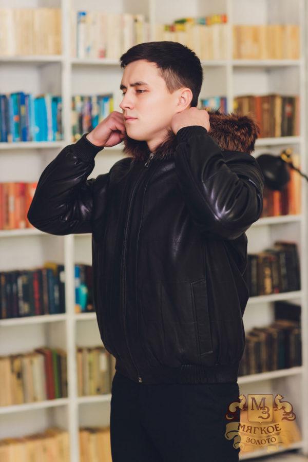 Куртка кожаная Virado 4837RK