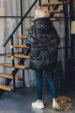Пуховик зимний с капюшоном A 1-2 288 женский