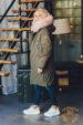 Пуховик с капюшоном Аляска 171127