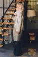 Дубленка кожаная с отделкой овчиной Giorgio Rotti BK 911