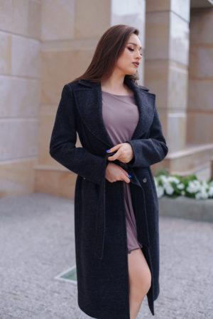 Пальто женское демисезонное 21930 (маренго)