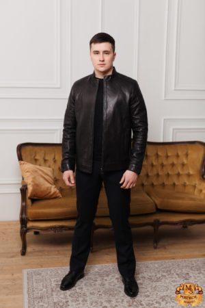 Куртка кожаная Gio Melli F397