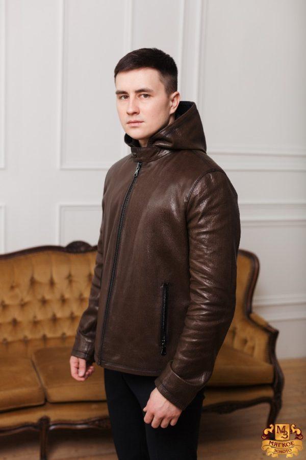 Кожаная куртка Gio Melli f 567