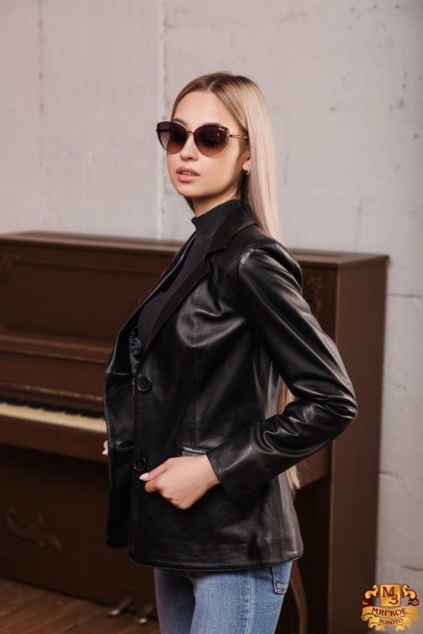 Куртка женская кожаная OKSA