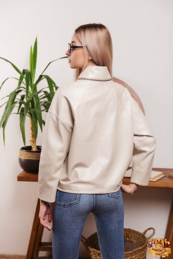 Куртка женская кожаная Rose Gialle 201