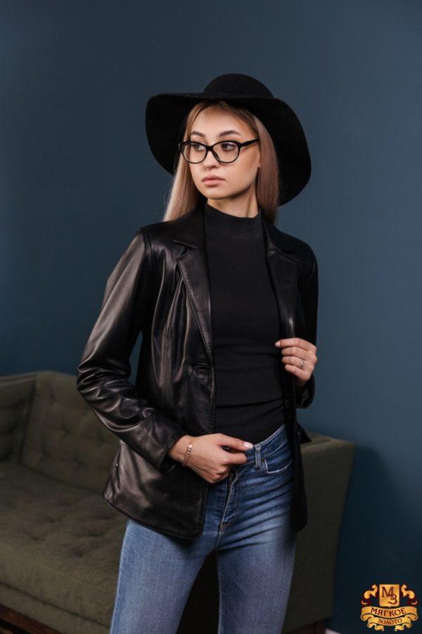Куртка женская кожаная OKSA Я9851
